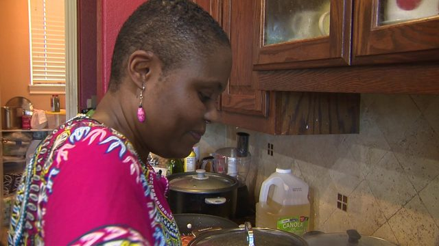 Congolese asylum-seekers given taste of home