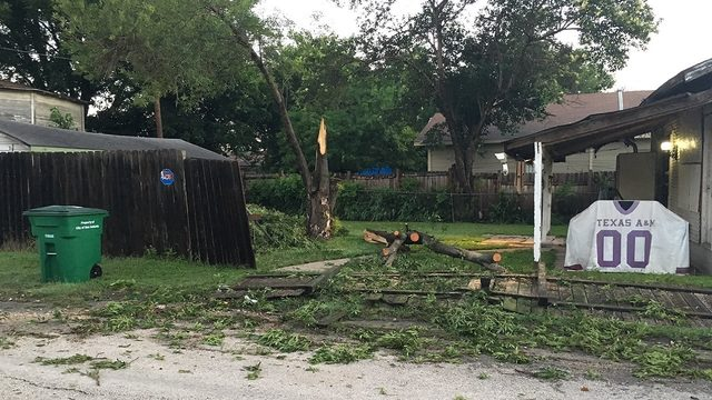 Residents, city crews busy with cleanup after Thursday's storms