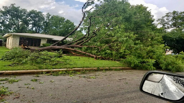 CPS Energy working to restore power following Thursday's storm
