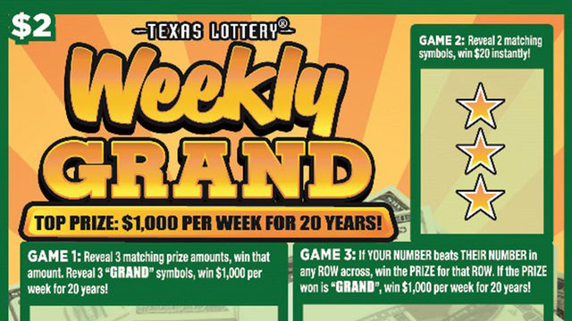 San Antonio resident won top prize in Weekly Grand lottery game