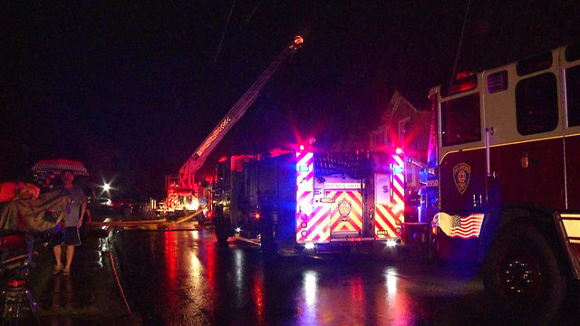 Lightning strike likely cause of Northeast Side house fire