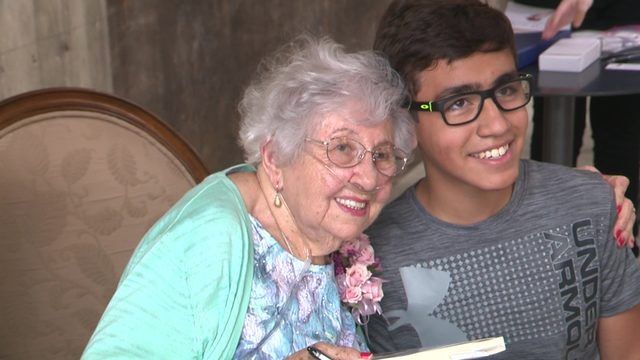 Holocaust survivor celebrates 92nd birthday with memoir release at the Pearl