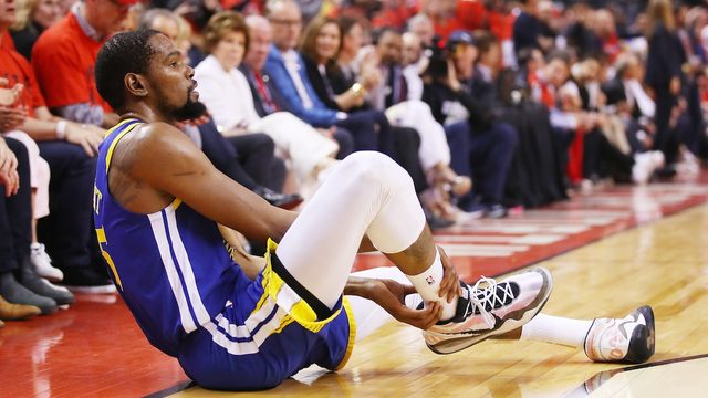 'So trash': Raptors fans blasted for cheering Kevin Durant's injury