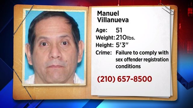 Authorities searching for man convicted of sexually assaulting girl, 9