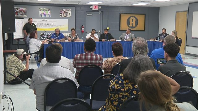 Harlandale board pushes back against state, suspends superintendent
