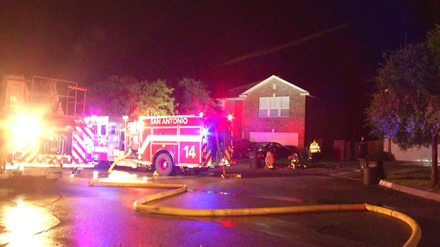 Lightning hits satellite dish, causes attic fire at NE Side home