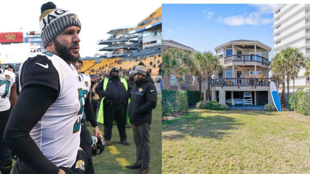 WJXT: Blake Bortles' beach home drops $75,000 in price