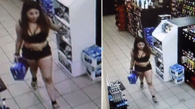 Police seek woman who stole 18-pack of beer, a $16 value