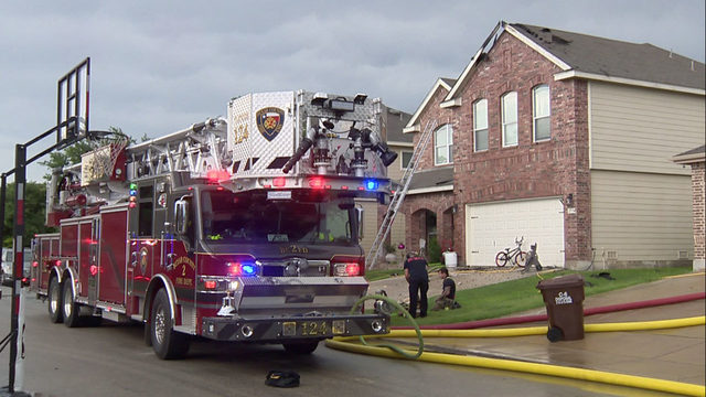 Lightning storms bring flood of calls for firefighters to house fires
