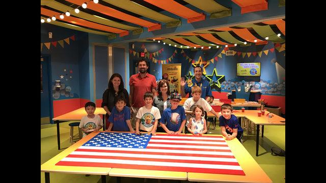 LEGOLAND Discovery Center hosting American flag celebration