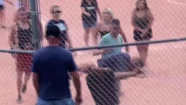 Adults brawl at youth baseball game video shows