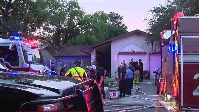 Multiple people evacuated during house fire on North Side