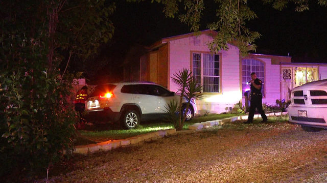 Driver had medical episode prior to crashing into house, police say