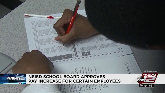 NEISD school board approves pay increase for certain employees