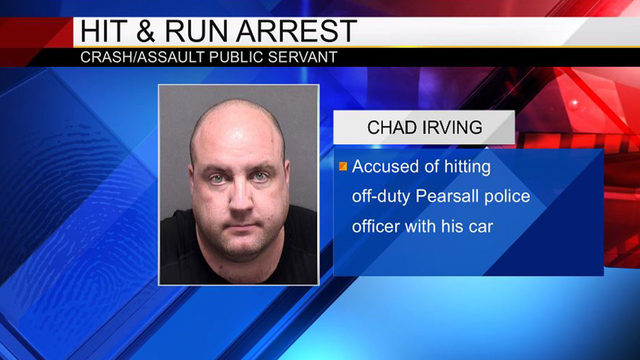 Man accused of hitting off-duty Pearsall police officer with car, BCSO says