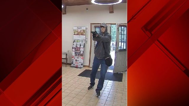 Police seeking help identifying armed bank robber in Wimberley