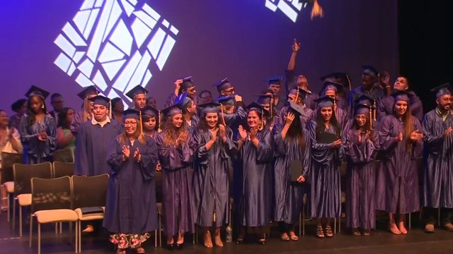 New graduates overcoming homelessness, foster care, single parenting