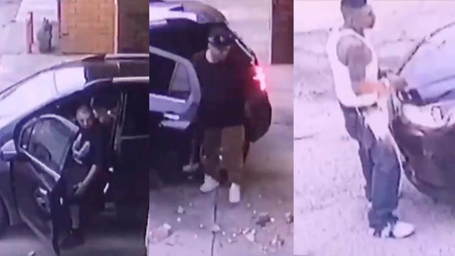 Police search for 'idiots with a sledgehammer' seen burglarizing coin machine