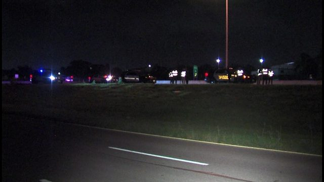 Man hit by truck trying to cross Loop 410