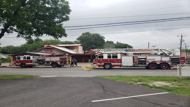 Grease fire damages Ray's Drive Inn