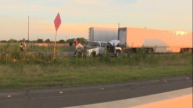 Driver killed in crash with 18-wheeler identified