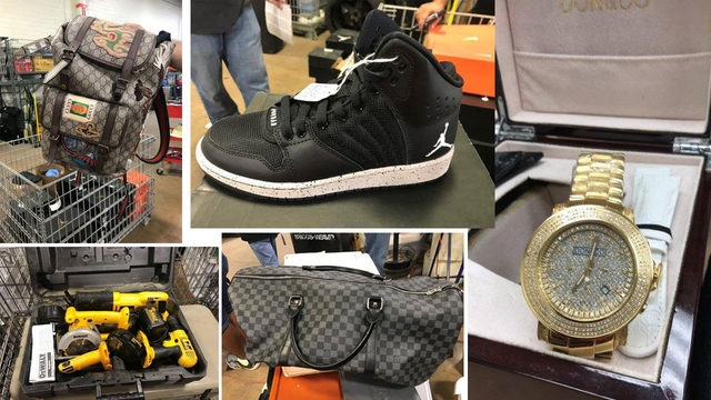 Gucci, Jordans, tools, game consoles, more at SAPD's auction