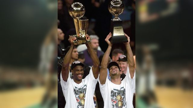 Relive title No. 1: Spurs became NBA champions 20 years ago today