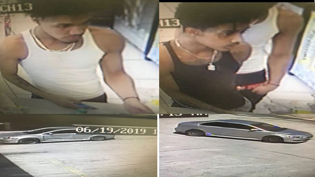 2 men sought after using stolen credit cards from robbery