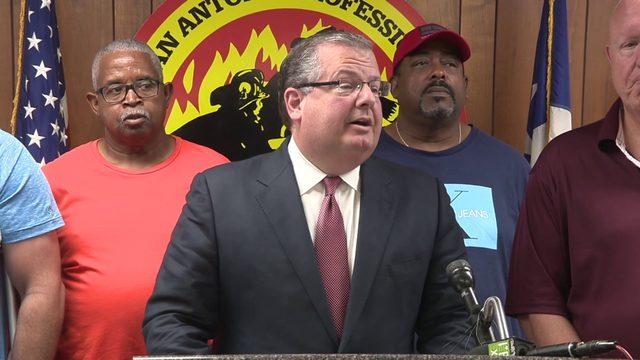 Fire union announces arbitrators