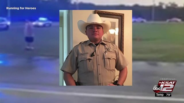 10-year-old Florida boy runs mile in honor of Kendall Co. deputy killed Tuesday