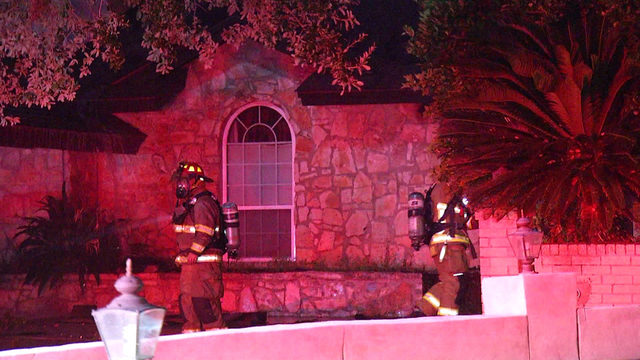 Castle Hills home ruled total loss after fire collapses roof