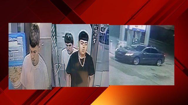SAPD: 3 men steal beer after flashing gun at store clerk