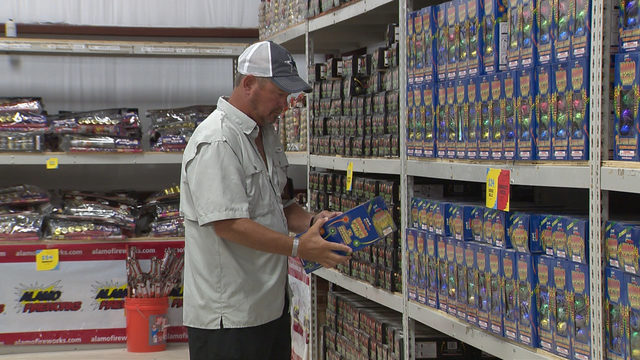 Fireworks sales booming on Fourth of July eve