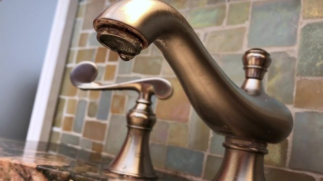 Fixing leaks to save money, water