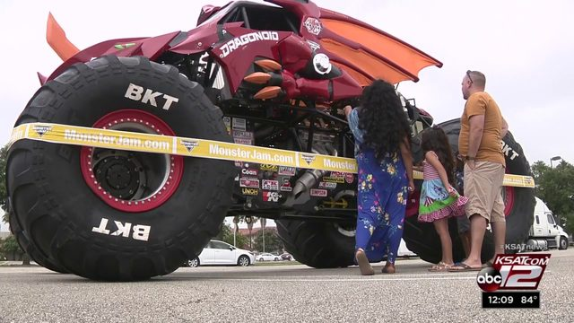 Monster Jam pays visit to Fort Sam Houston