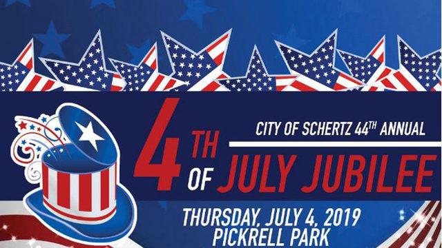 WATCH LIVE: Schertz 44th Annual Fourth of July Jubilee