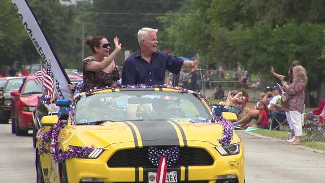 Leon Valley marks Fourth of July with parade, fireworks show
