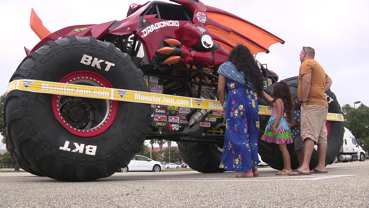 Monster Jam Pays Visit To Fort Sam Houston