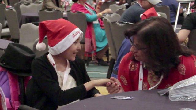 28 children battling cancer, some terminal, get Christmas in July celebration