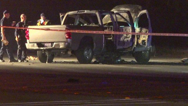 Gunfire ignites fireworks in family car, critically injuring children
