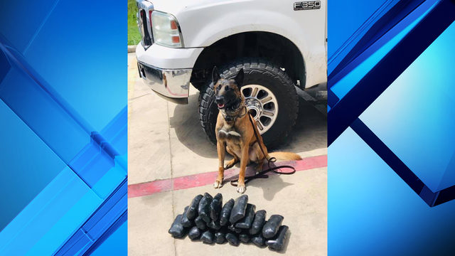 BCSO K-9 leads authorities to $675K worth of methamphetamine