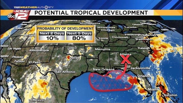 Watching the Gulf of Mexico for possible tropical development