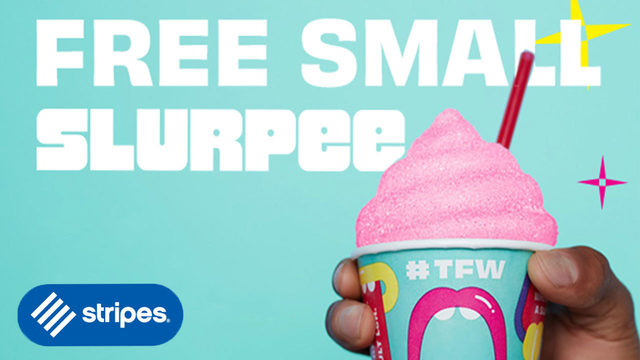 Enjoy free Slurpee at Stripes on 7-Eleven Day