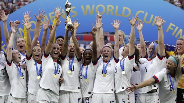 Children's soccer program feels community excitement after Team USA wins…