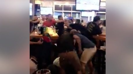 SAPD: Beer bottles thrown, several fights break out during 'all out…