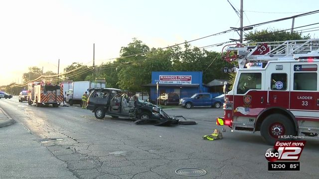 Truck driver stunned as SUV comes barreling toward him on West side street