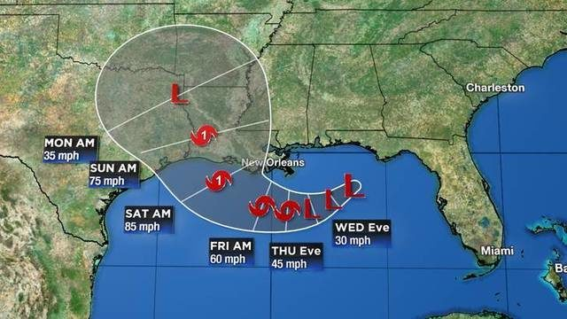Tropical storm expected to form by end of week in Gulf Of Mexico
