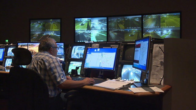 'While You Were Sleeping': TransGuide crew keeps an eye on overnight traffic