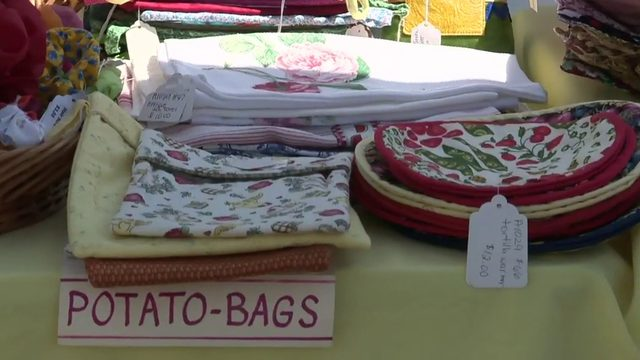 Local farmers market helps refugees