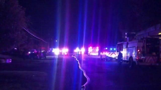 SAFD: Garage fire sends 1 to hospital